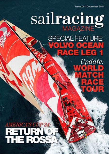 sail racing magazine December cover 500