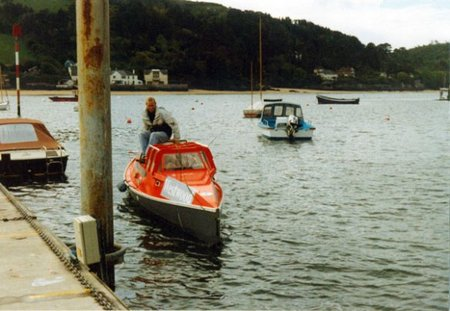33 da salcombe seatrials