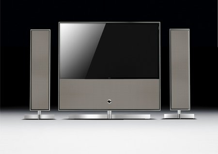 Loewe Reference ID and speakers (silver beige diamond)