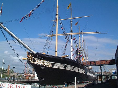 SS Great Britain bow view