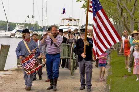 Decoration Day at Mystic Seaport