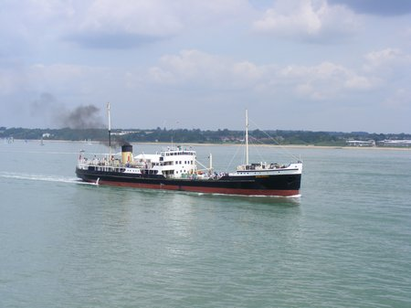 2014 Shieldhall pictured from Whitchallenger DSCF6003