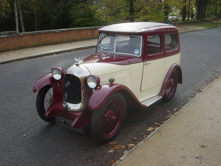 1930 Austin 7 Swallow Saloon 2